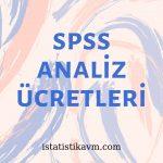 spss analiz ücretleri